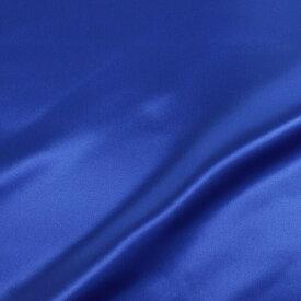 生地 スタンダードサテン (T8739) 37.ロイヤルブルー (H)_k5_
