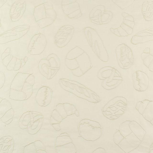 生地 nakaniwa-ナカニワ- パン/刺繍生地(YNZF-06) OW.オフホワイト系 (B)_atj
