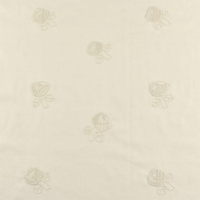 生地 nakaniwa-ナカニワ- バラ/刺繍生地(YNZF-07) OW.オフホワイト系 (B)_atj