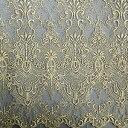 生地 クリンプレース(190043) 6.BK/G 黒地×ゴールド刺繍 (H)_k5_