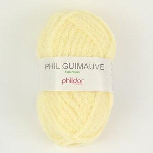 毛糸 Phildar-フィルダー- GUIMAUVE-ギモーヴ POUSSIN.イエロー (M)_b1_
