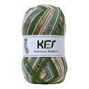 毛糸 Opal-オパール- 気仙沼カラー KFS106.桜/グリーン・ピンク系マルチカラー (M)_b1j