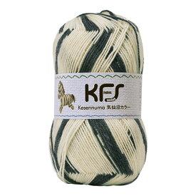 毛糸 Opal-オパール- 気仙沼カラー KFS127.ゼブラ/アイボリー・チャコール系 (M)_b1j