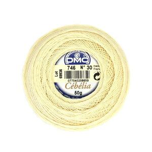レース糸DMCセべリアカラーArt167A#30色番746(M)_b1_