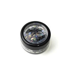 メイク用グリッター MOON Holographic Chunky Glitter (G04502) Silver (H)_3a_
