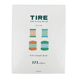 糸見本帳 フジックス タイヤー絹糸 カラーサンプルブック (H)_6bj