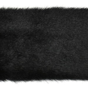 フェイクファーテープ 約160mm幅 (2100) 3.黒(H)_4a_