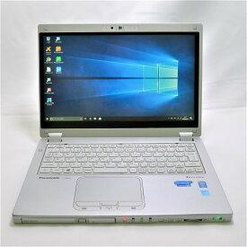 パナソニック Panasonic Let's note CF-MX3 Core i5 4GB 新品SSD480GB スーパーマルチ 無線LAN フルHD Windows10 64bitWPSOffice 12.5型ワイド タッチパネル タブレットPC 2-in-1 Ultrabook 中古 中古パソコン モバイルノート 【中古】