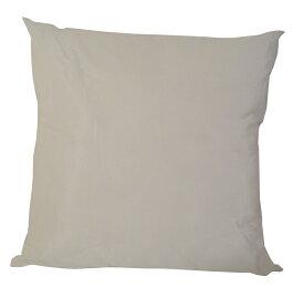 【送料無料】2個以上だとお買い得ポリエステル綿のクッション中材45×45cm・ヌードホワイト日本製(2点目以降300円引き)