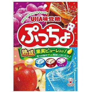 味覚糖 ぷっちょ袋 4種アソート 93g×6袋