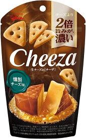 江崎グリコ 生チーズのチーザ 燻製チーズ味 40g×10個