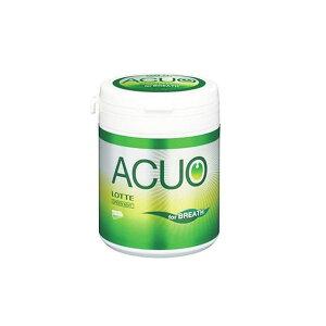 ロッテ ACUO グリーンミント ファミリーボトル 140g×6個入