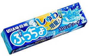 味覚糖 ぷっちょストロングソーダ スティック 10粒×10袋