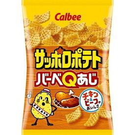 カルビー サッポロポテト バーベQあじ 80g × 12袋