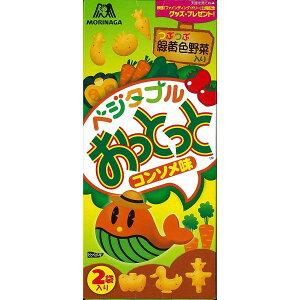 森永製菓 ベジタブルおっとっと コンソメ味 50g×10箱