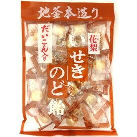 井関食品 だいこん入り 花梨いせきのど飴 120g×10袋