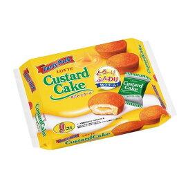 ロッテ カスタードケーキパーティパック 9個×10袋
