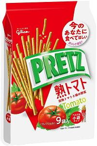 江崎グリコ プリッツ熟トマト (9袋) 134g×6個