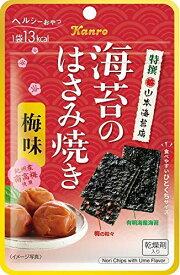 カンロ 海苔のはさみ焼き 梅味 4.4g×6袋