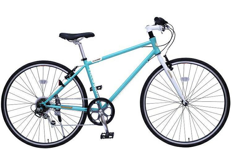 ☆セール☆ミムゴ クロスバイク MG-FCX700CE(ライトブルー)FIELD CHAMP CROSSBIKE700C6SE700C シマノ製6段変速【送料無料】