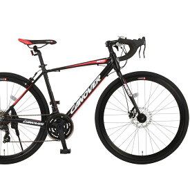 CANOVER/カノーバー ロードバイク 700×28CCAR-014-DC NERO (ネロ)【マットブラック】【送料無料】シマノ製21段ギア グラベルロード オオトモ