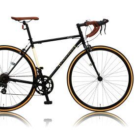 CANOVER/カノーバー ロードバイク 700x25CCAR-013 ORPHEUS(オルフェウス)【ブラック】【送料無料】シマノ製14段ギア 通勤通学 スポーティ オオトモ クロモリフレームデュアルコントロールレバー Tourney クラシックロード