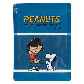 スヌーピー ストレージバッグ 4P (ブルー)スヌーピー グッズ ジッパーバッグ おしゃれ ジッパー付き ビニール袋 ジッパー 袋 ジップ 袋 保存袋 小分け袋 小分け チャック付き袋 チャック袋