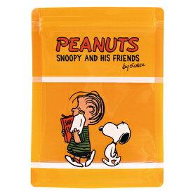 スヌーピー ストレージバッグ 4P (イエロー)スヌーピー グッズ ジッパーバッグ おしゃれ ジッパー付き ビニール袋 ジッパー 袋 ジップ 袋 保存袋 小分け袋 小分け チャック付き袋 チャック袋