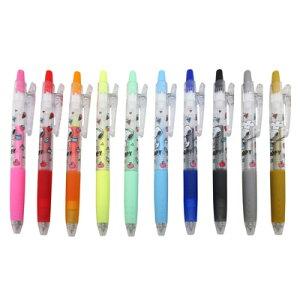 スヌーピー ボールペン 0.5mm (Juice)スヌーピー グッズ ボールペン ブラック レッド ブルー ピンク オレンジ グリーン イエロー ゴールド シルバー おしゃれ オシャレ 可愛い かわいい