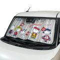 車の日よけにかわいい車用サンシェード、UVカットもしっかりできるオススメは?