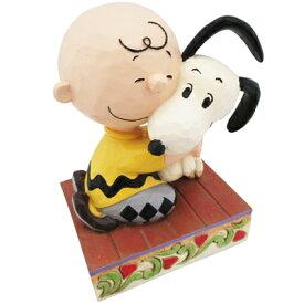 PEANUTS JIM SHORE フィギュア Beagle Hug = Blissful Heartスヌーピー フィギュア ジムショア JIM SHORE チャーリーブラウン ハグ インテリア 置物 SNOOPY スヌーピーグッズ ギフト 贈り物 おしゃれ かわいい キャラクター グッズ 大人 向け プレゼント