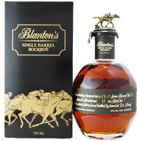 お取り寄せ ブラントン ブラック 正規品 40度 750ml 箱入 シングルバレル バーボンウイスキー アメリカ 【敬老の日 家飲み 贈答用 ギフト】