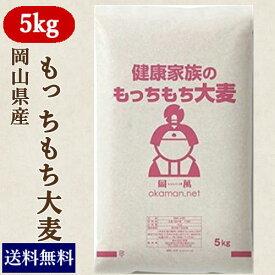 もっちもち大麦 5kg 30年岡山県産