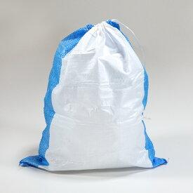 土のう袋 ブルーライン(10枚入)【48cm×62cm】