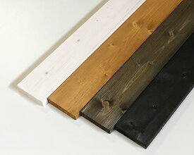 塗装ワンバイ材 【約19×89×1830mm】[1×4] ( DIY 木材 1x4 角材 塗装済 カット可 ワンバイフォー 4色展開 )
