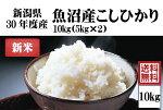 予約 平成30年度産新米 渡辺さんの作った魚沼産こしひかり 10kg【阿部幸製菓】