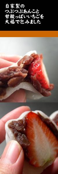 自家製つぶあん/甘酸っぱい苺