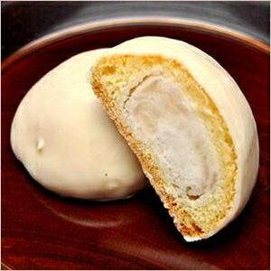 ホワイトチョコレート/ホワイトチョコレート饅頭