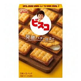 グリコ ビスコ 発酵バター仕立て 15枚 10コ入り 2015/02/10発売 (4901005104488)
