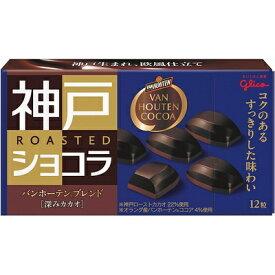 グリコ 神戸ローストショコラ バンホーテンブレンド 深みカカオ 53g 120コ入り