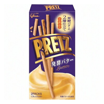 グリコ プリッツ 発酵バター 60g 10コ入り