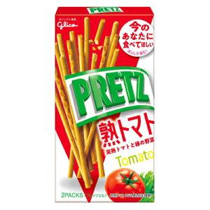 グリコ プリッツ 熟トマト 60g 10コ入り 2019/07/30発売 (4901005520790)