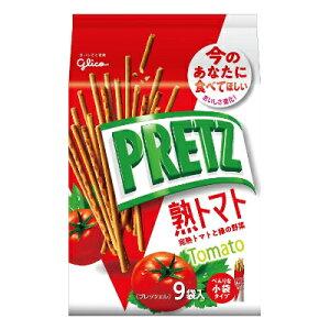グリコ プリッツ熟トマト 9袋 134g 6コ入り 2019/07/30発売 (4901005520820)