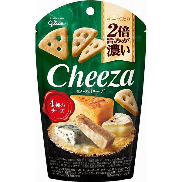 グリコ 生チーズのチーザ 4種のチーズ 40g 10コ入り