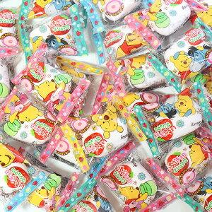 (全国送料無料) エイワ くまのプーさん いちごチョコマシュマロ 1個 64コ入り メール便 (4901088021504x64m)