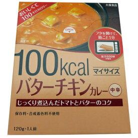 (全国送料無料) 大塚食品 マイサイズ バターチキンカレー 120g 2コセット メール便