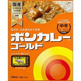 大塚食品 ボンカレーゴールド 中辛 180g 10コ入り (4901150112161)