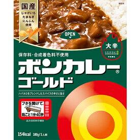 大塚食品 ボンカレーゴールド 大辛 180g 10コ入り (4901150112390)