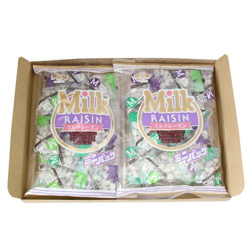 (全国送料無料) 浅草屋産業 ミニミルクレーズン 160g 2コ入り メール便