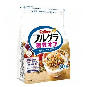 カルビー フルグラ 糖質オフ 600g 6コ (4901330742874)